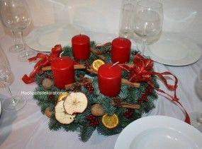 adventskranz klassik1 frische tanne weihnachten advent. Black Bedroom Furniture Sets. Home Design Ideas
