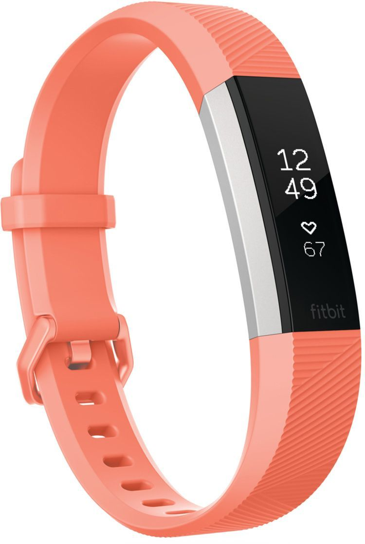 Fitbit alta hr and fitness wristband pink fitness