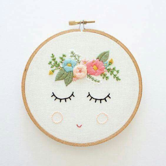 Pin By Karely Guerrero On Manualidades Pinterest Embroidery