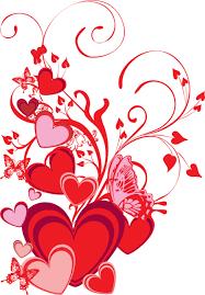 Resultado De Imagen Para Bordes De San Valentin En Png Heart Wallpaper Valentine Background Free Clip Art