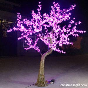 Wholesale Led Cherry Tree Light Made In China Ichristmaslight Blossom Trees Outdoor Led Tree Tree Lighting