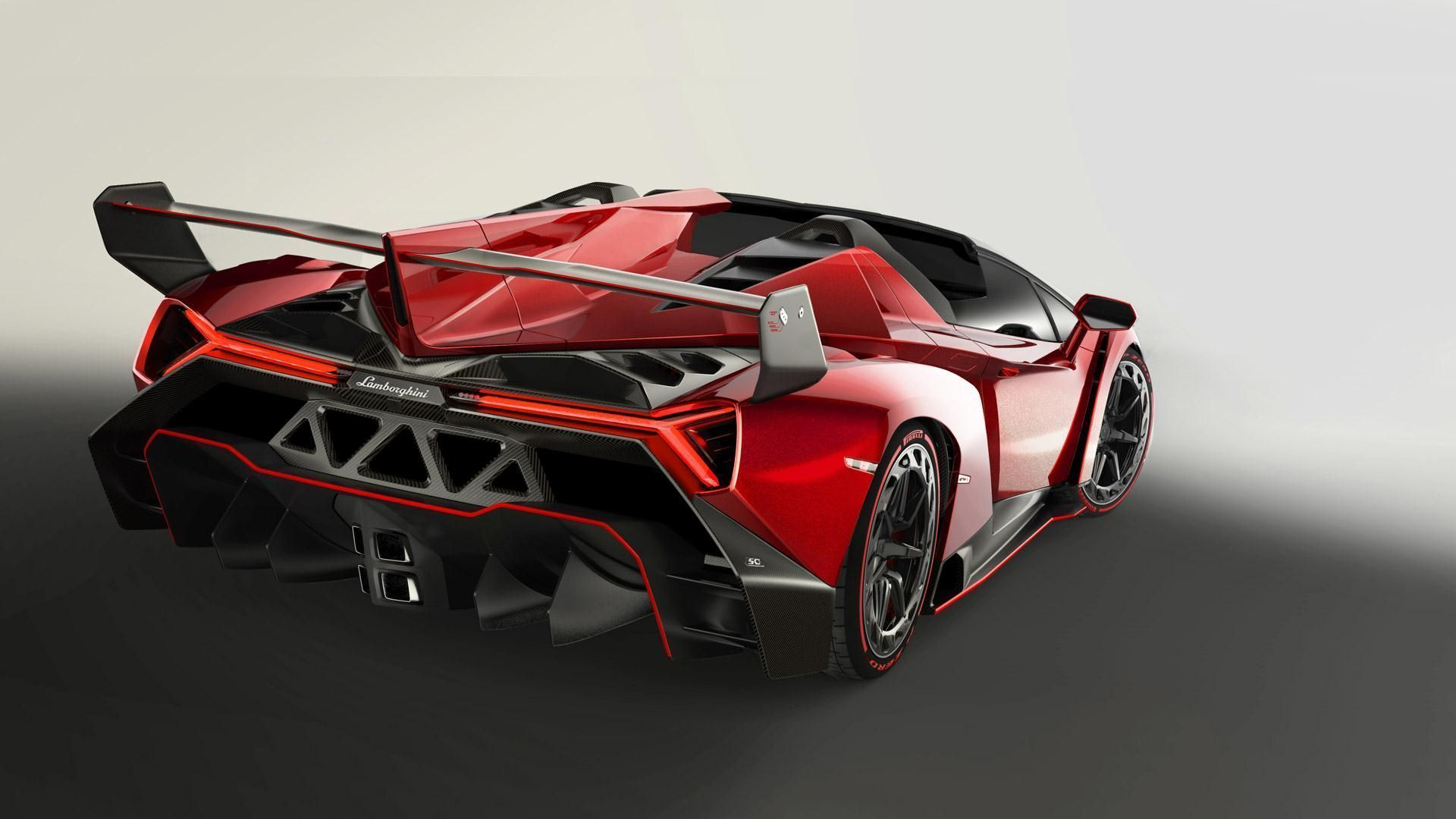 Download Super Lamborghini Veneno Roadster Red Super Cars IPhone .