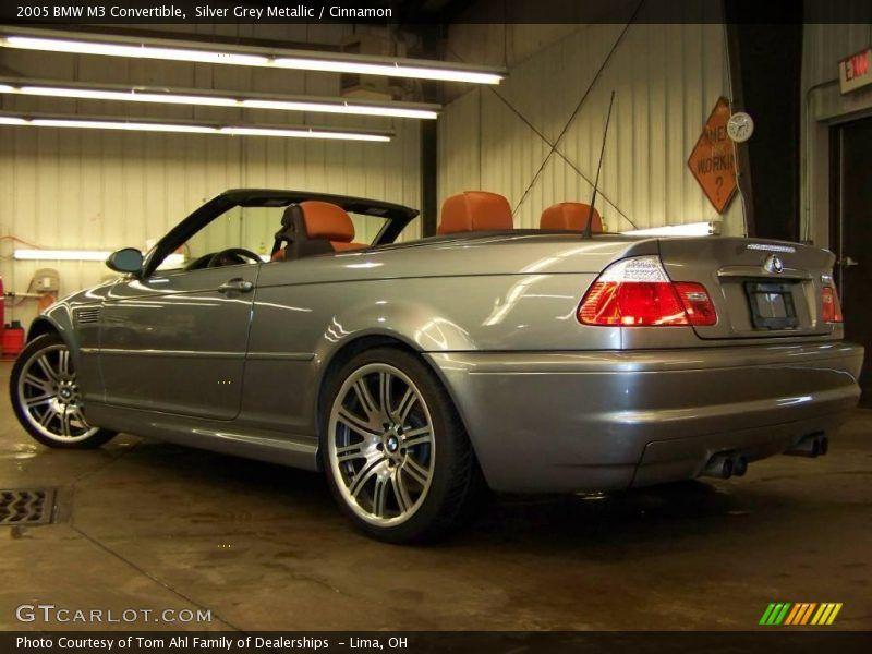 Silver grey metallic 2005 bmw m3 convertible with cinnamon - E46 m3 cinnamon interior for sale ...