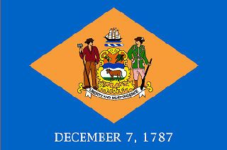Official State Flag Of Delaware The Us50 Delaware Flag Delaware State Flag Delaware State