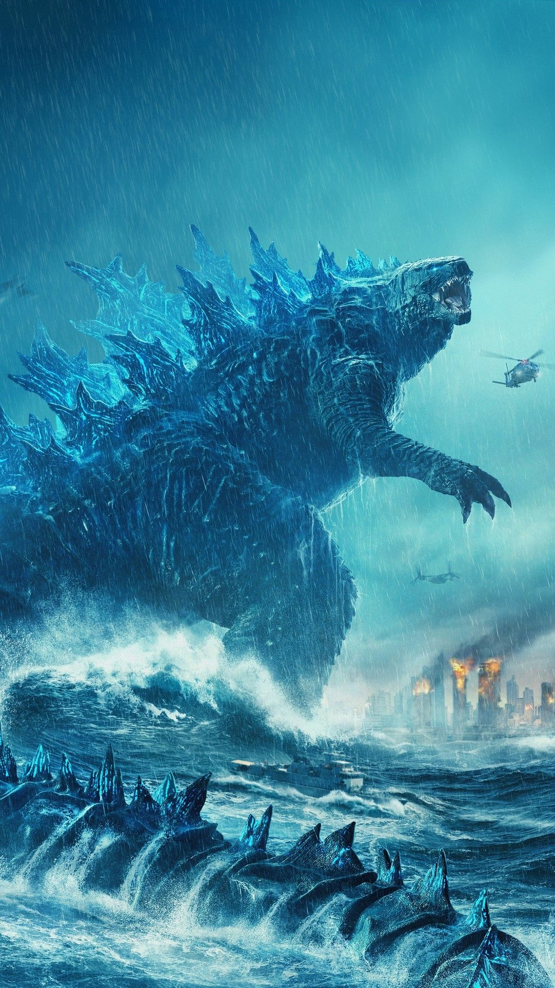 Godzilla King Of The Monsters Wallpaper For Iphone Best Iphone Wallpaper Godzilla Funny Godzilla Wallpaper Godzilla Vs King Ghidorah