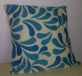 Hand Painted Cushion Hand Painted Fabric Silk Painting