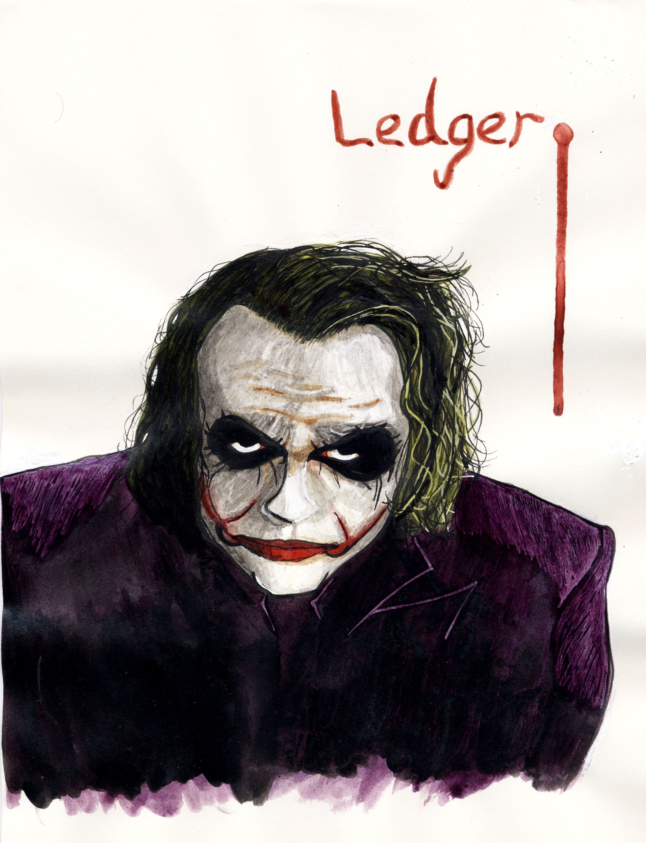 Heath Ledger dans tout son art : The Joker, dans The Dark Knight