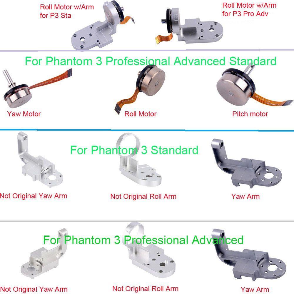Original Gimbal Yaw Roll Arm Pitch Motor Repair Part for