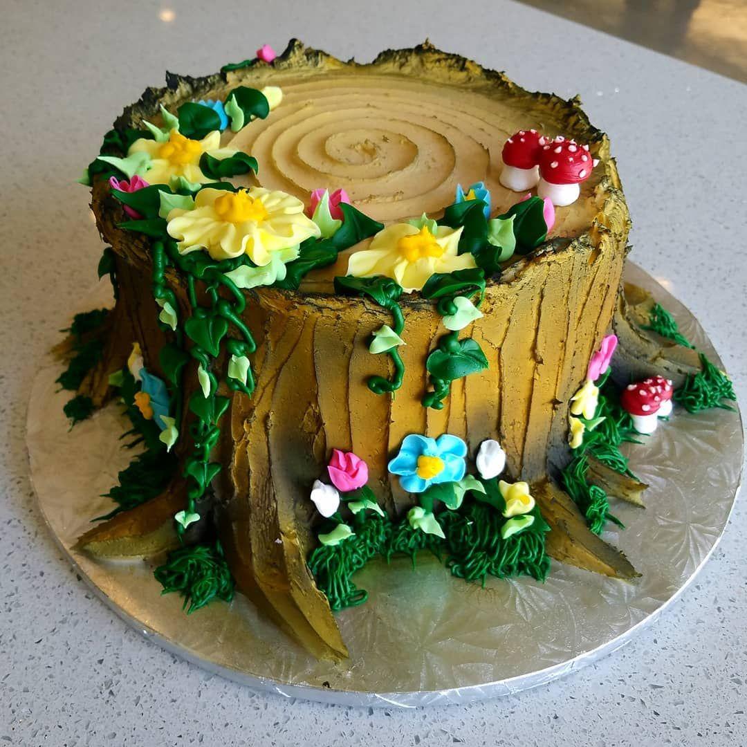 Buttercream Fairy Garden Cake Fairy Garden Cake Fairy Garden