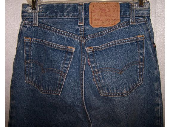 Levi's 501 button fly jeans  jean denim  Levi by CommonCentsThrift, $26.00