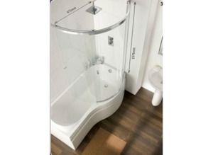 P Shaped Bath For Sale In Uk 26 Used P Shaped Baths Shower Bath Small Bathroom Layout P Shaped Bath