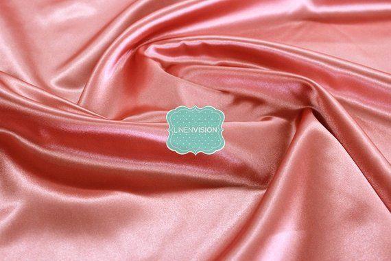 """Dark Gold 5 Yards Shiny Bridal Satin Fabric 60/"""""""