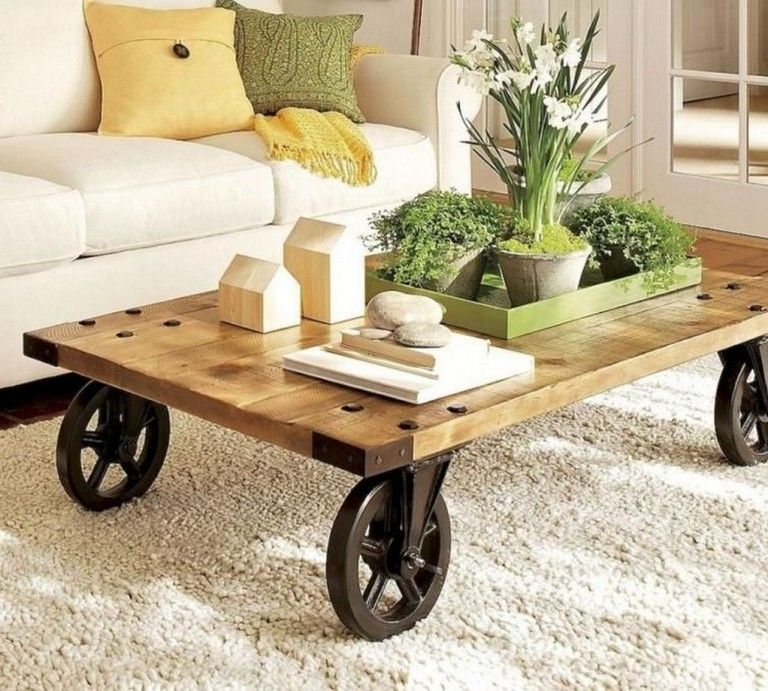 31+ Cool Farmhouse Coffee Tables Ideas To Your