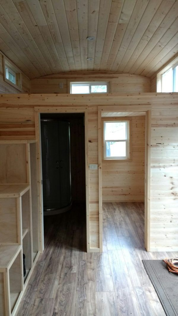 Photo of One of a kind Tiny House (THOW) for sale by owner, $39,900, Ground Floor Bedroom + Loft, 270sq ft (SOLD!)