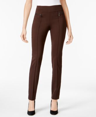 01cf8904a5f Style   Co Petite Seamed Pull-On Skinny Pants