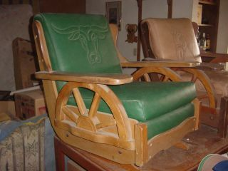 Furniture Chairs Post 1950 Antiques Browser Western Furniture Vintage Western Decor Ranch Furniture
