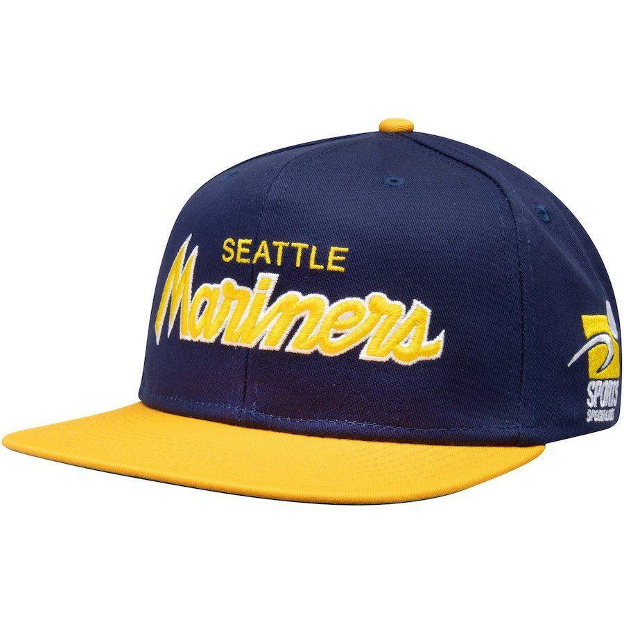 Men s Seattle Mariners Nike Navy Pro Cap Sport Specialties Snapback  Adjustable Hat e284f28baf8e