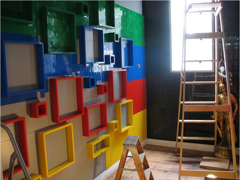 18 awesome boys lego room ideas tip junkie frame boys lego creations the pics - Boys Room Lego Ideas