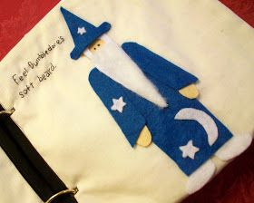 Feather's Flights {a creative, sewing blog}: Harry Potter Quiet Book