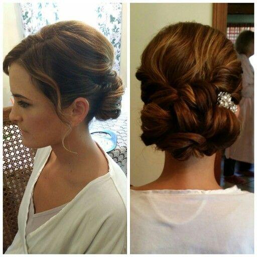 Wedding Entourage Hairstyle: Hair By Carly McKay Of Beauty Entourage