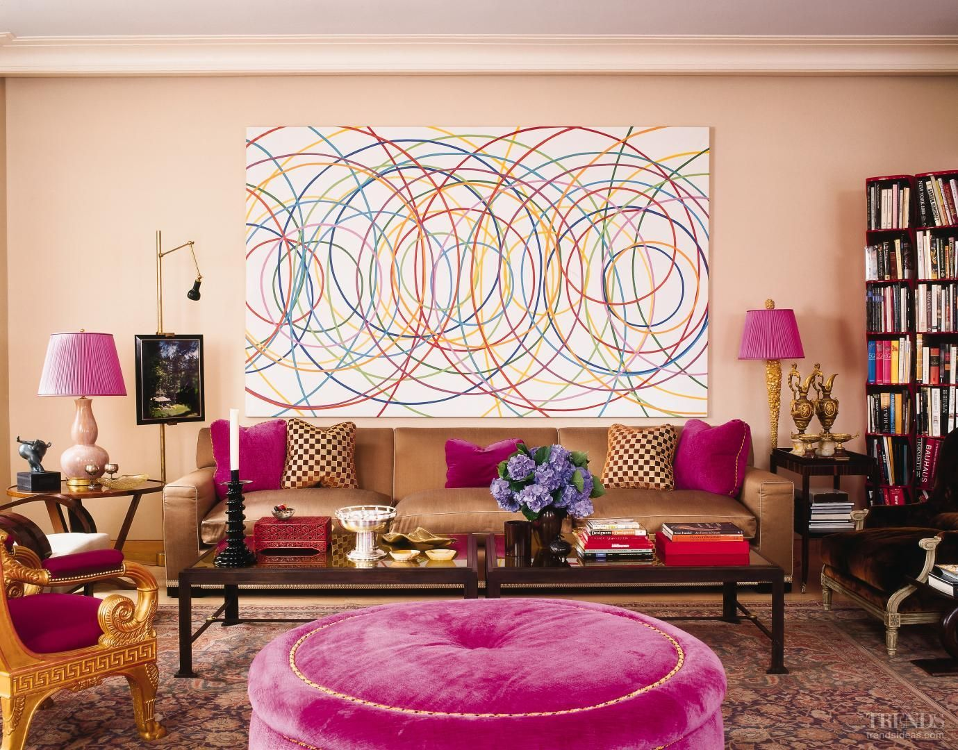 Image result for fuschia and teal interior design | Interior D-ZIGN ...