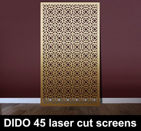Dido 45 Laser Cut Metal Arabic Screens Shelters In 2019