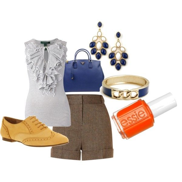 Day at Carmel Beach, created by slvdl on Polyvore
