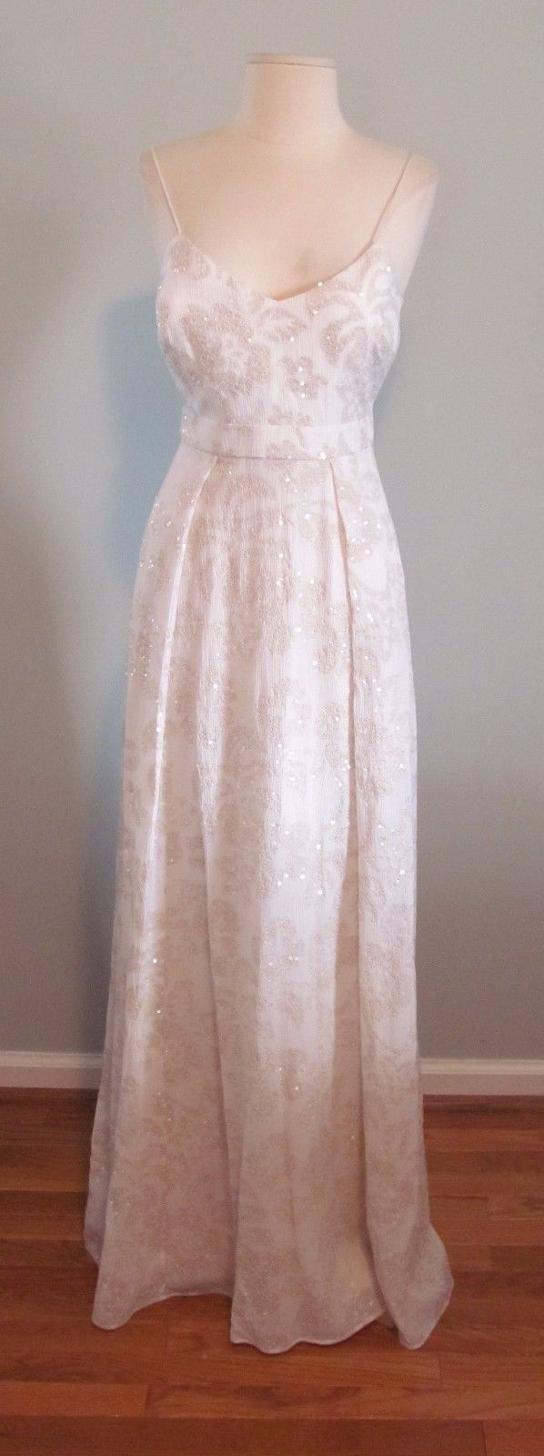 J Crew Sequin Plume Gown Size 00 Wedding Dress Ivory C1227 Ivory Wedding Dress Dresses Wedding Dresses