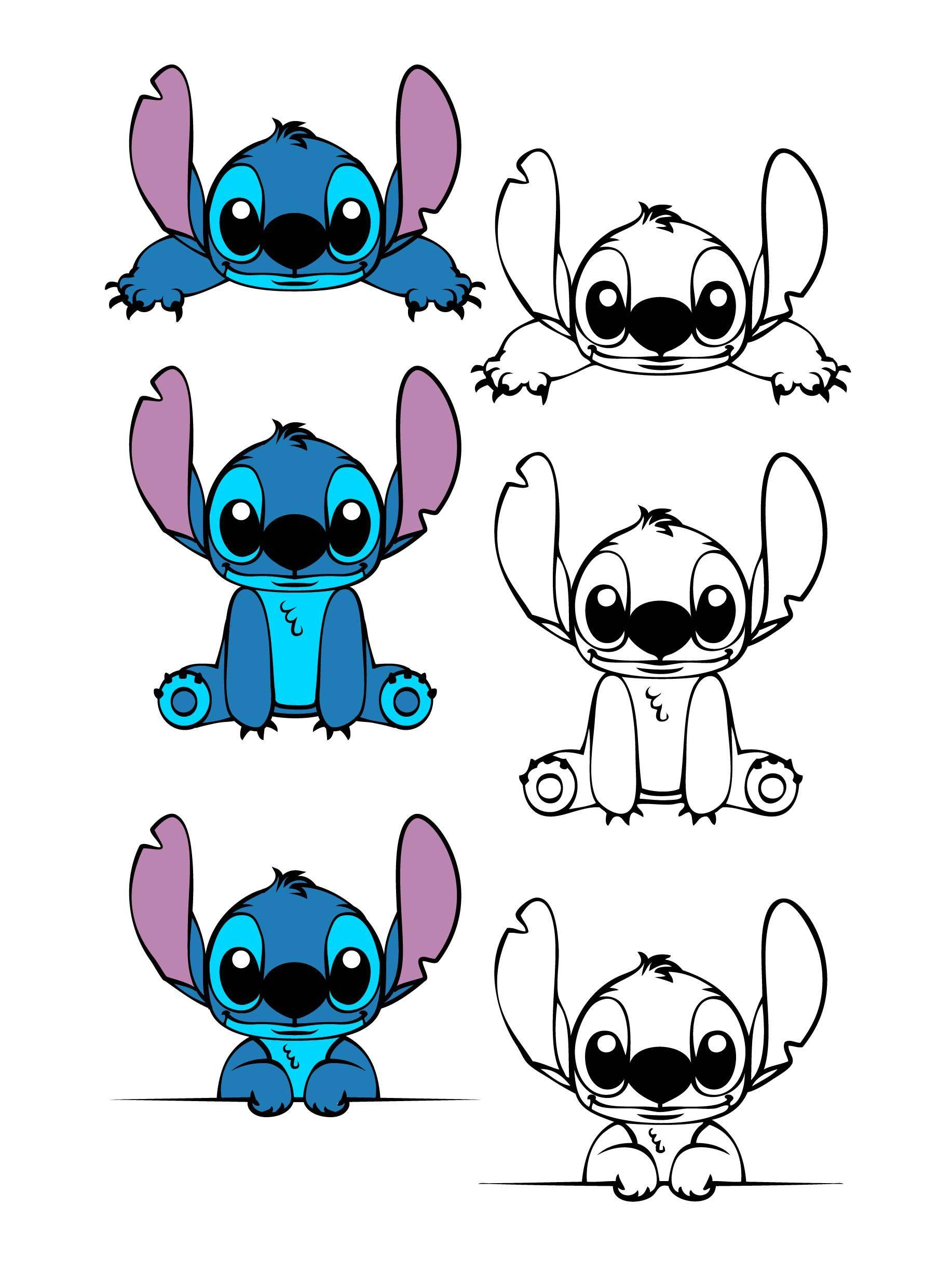 Lilo And Stitch svg Stitch SVG Experiment 626 Disney