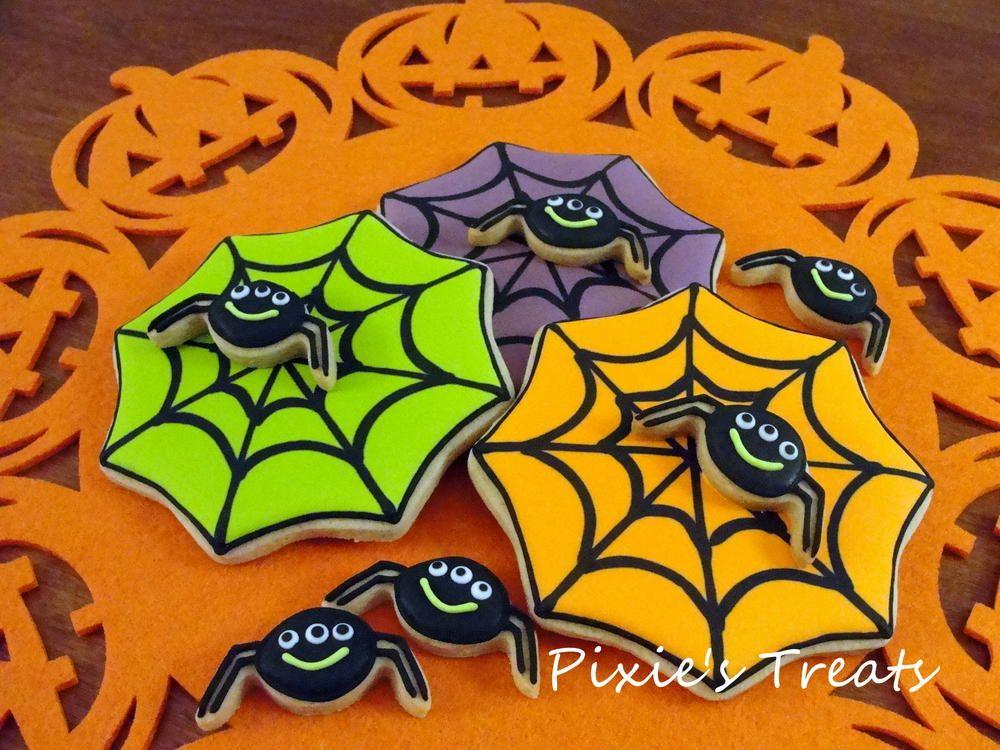 Halloween Spider Webs | Cookie Connection
