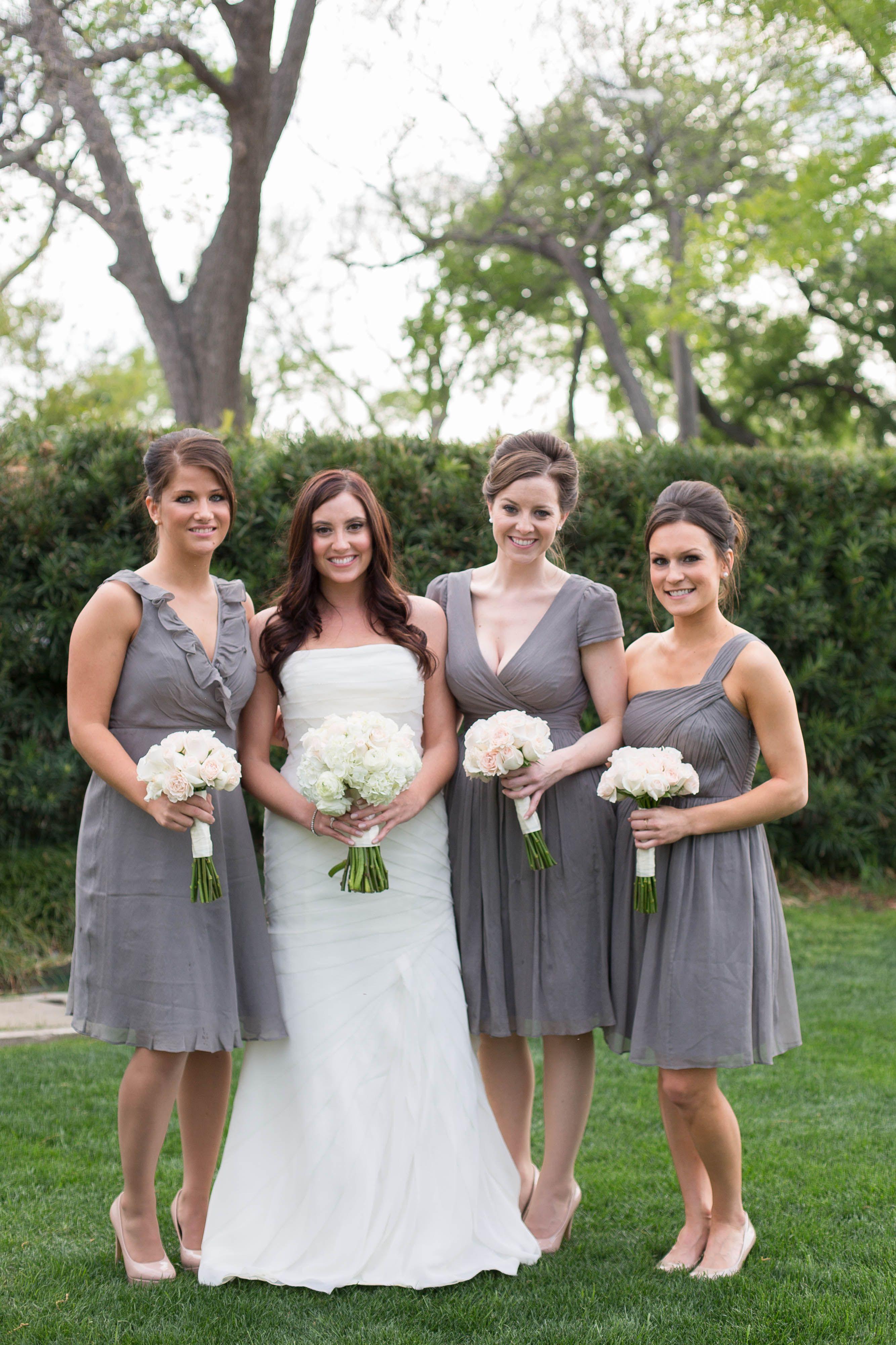 Gray bridesmaid dresses jew graphite different styles same gray bridesmaid dresses jew graphite different styles same color ombrellifo Gallery