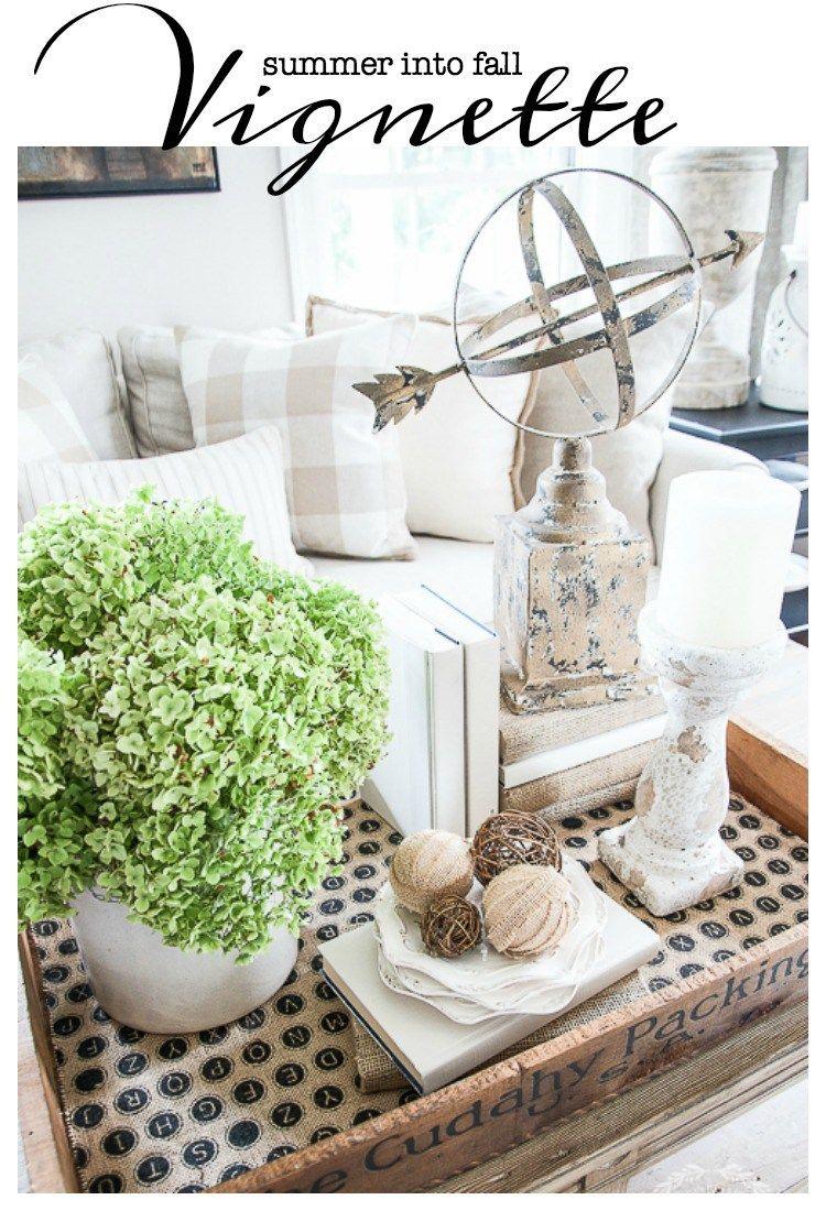 SUMMER INTO FALL Home decor accessories
