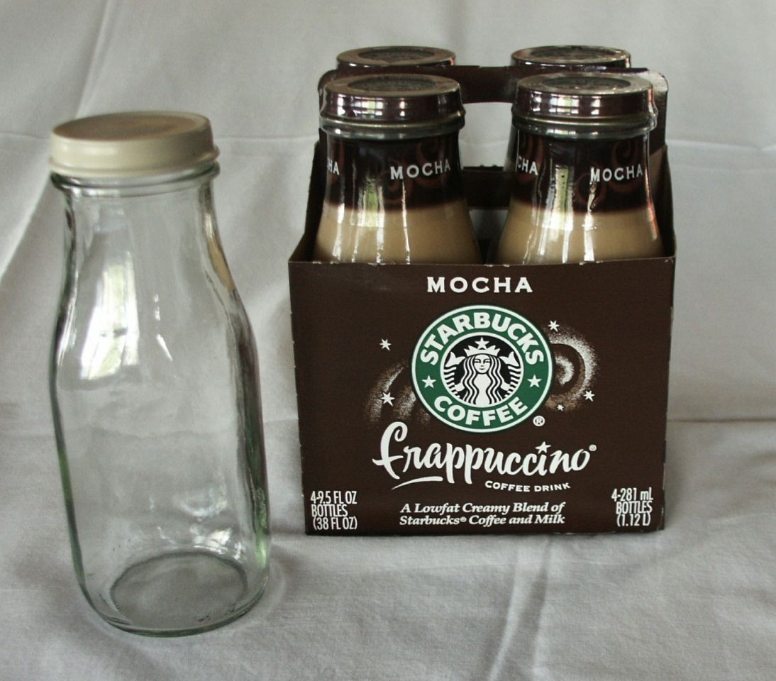 Such A Great Idea Save The Starbucks Iced Coffee Glasses