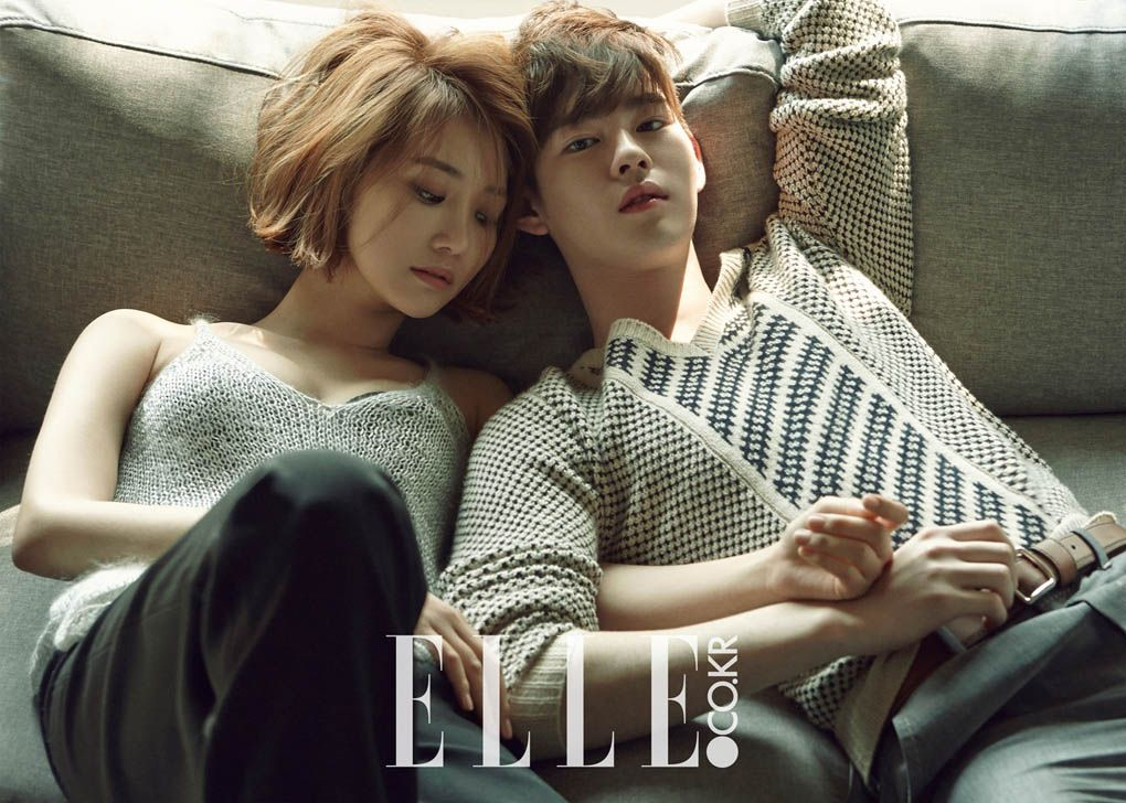 Go Joon Hee and Han Ye Jun - Elle Magazine May Issue 2015