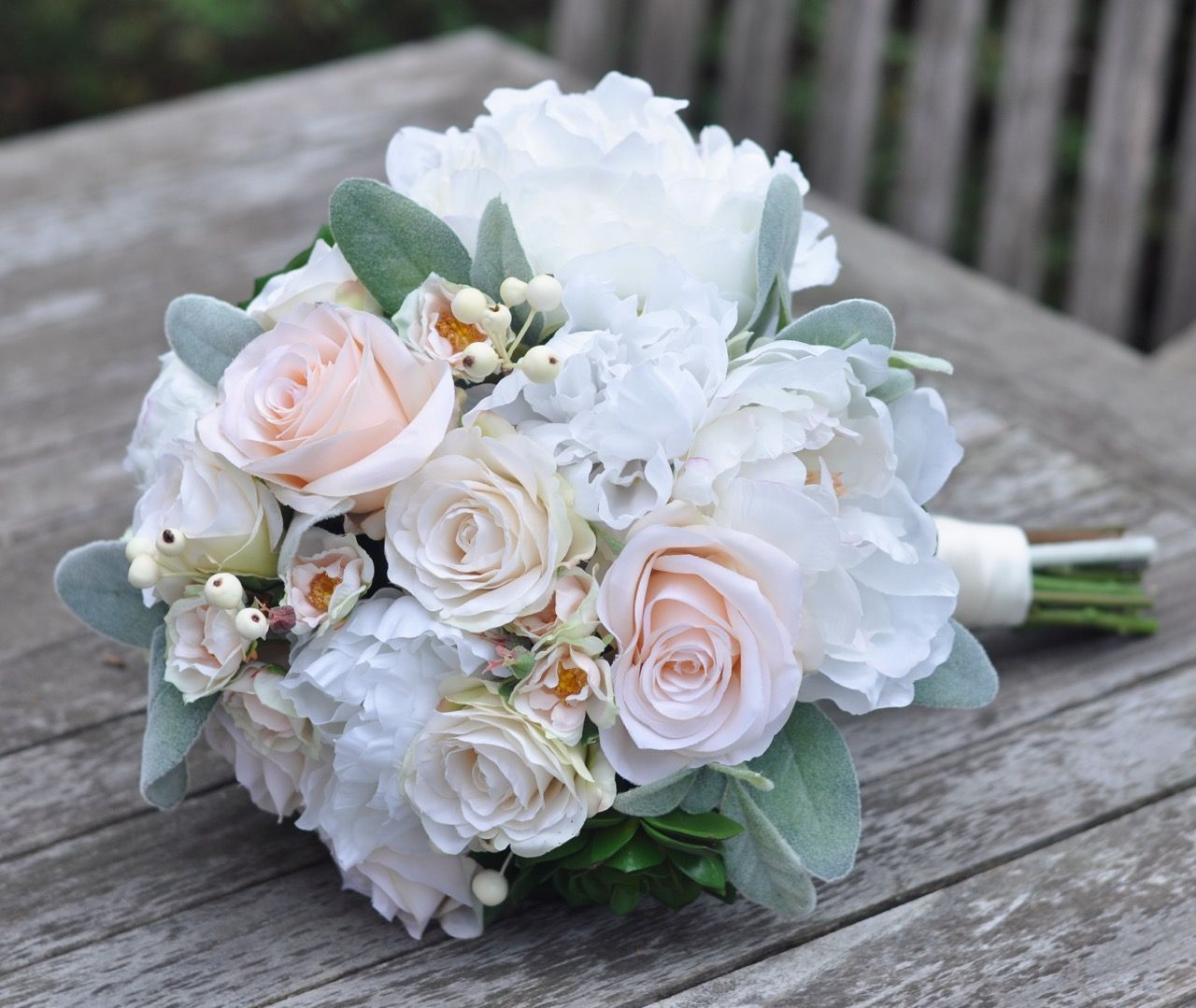 New Winter Bouquet Heading To Louisiana Tomorrow Silk Wedding