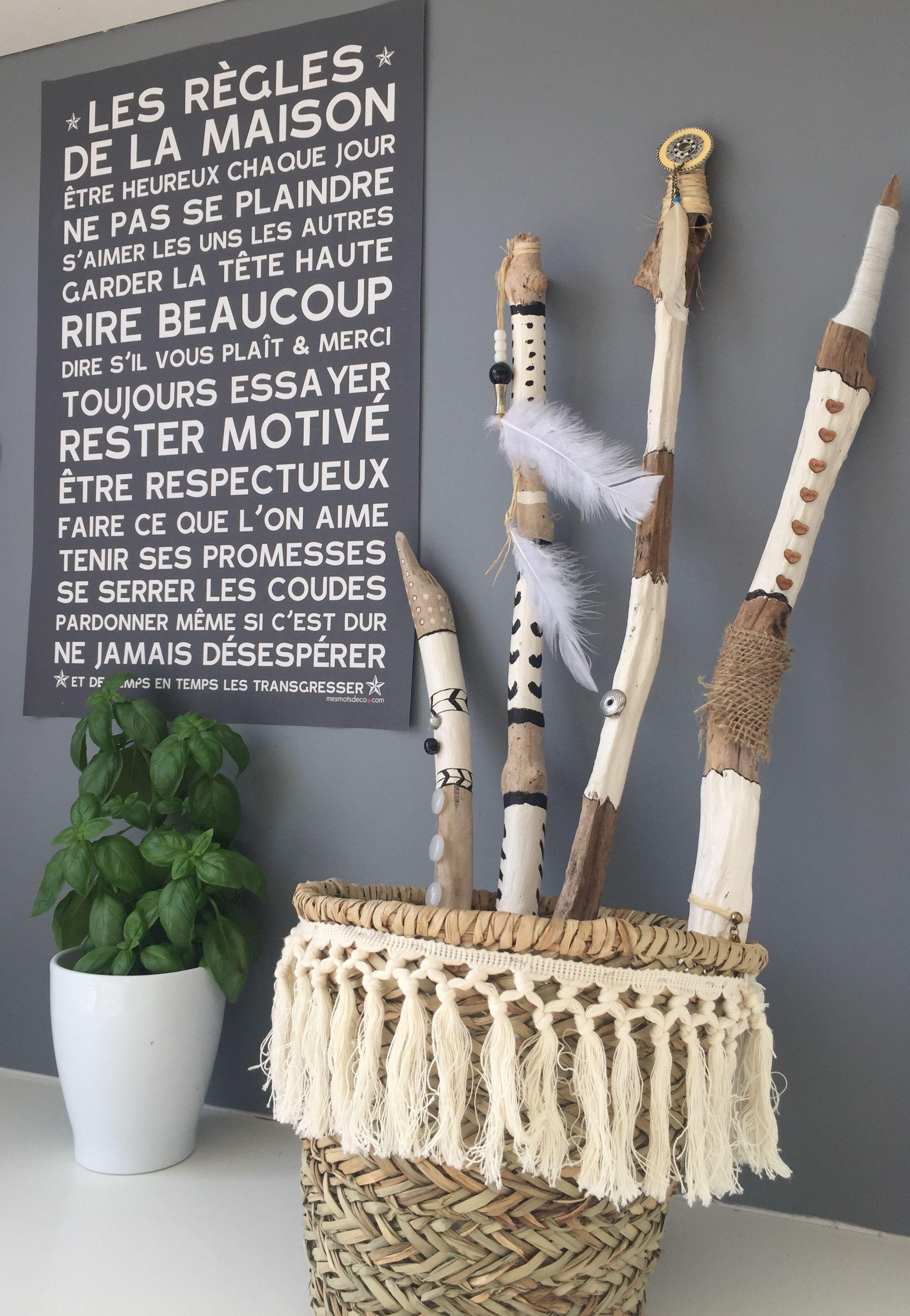 Deco Terrasse Bois Flotté bois flottés bâton indien   déco bois flotté, bois flotté