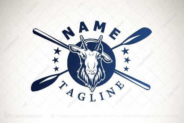 Exclusive Logo 192331, Sea Kayak Goat Logo Goat logo