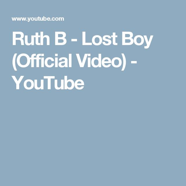 lost boy ruth b itunes