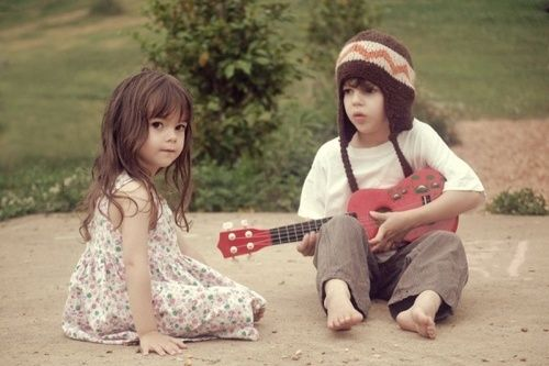 kids couple