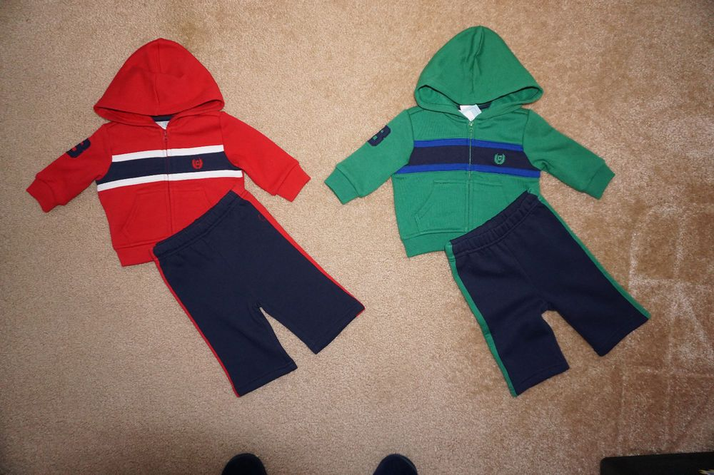 Chaps Toddler Boy Pullovers Pants Jacket NWT