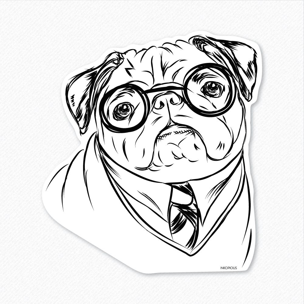 37+ Pug coloring pages for adults information