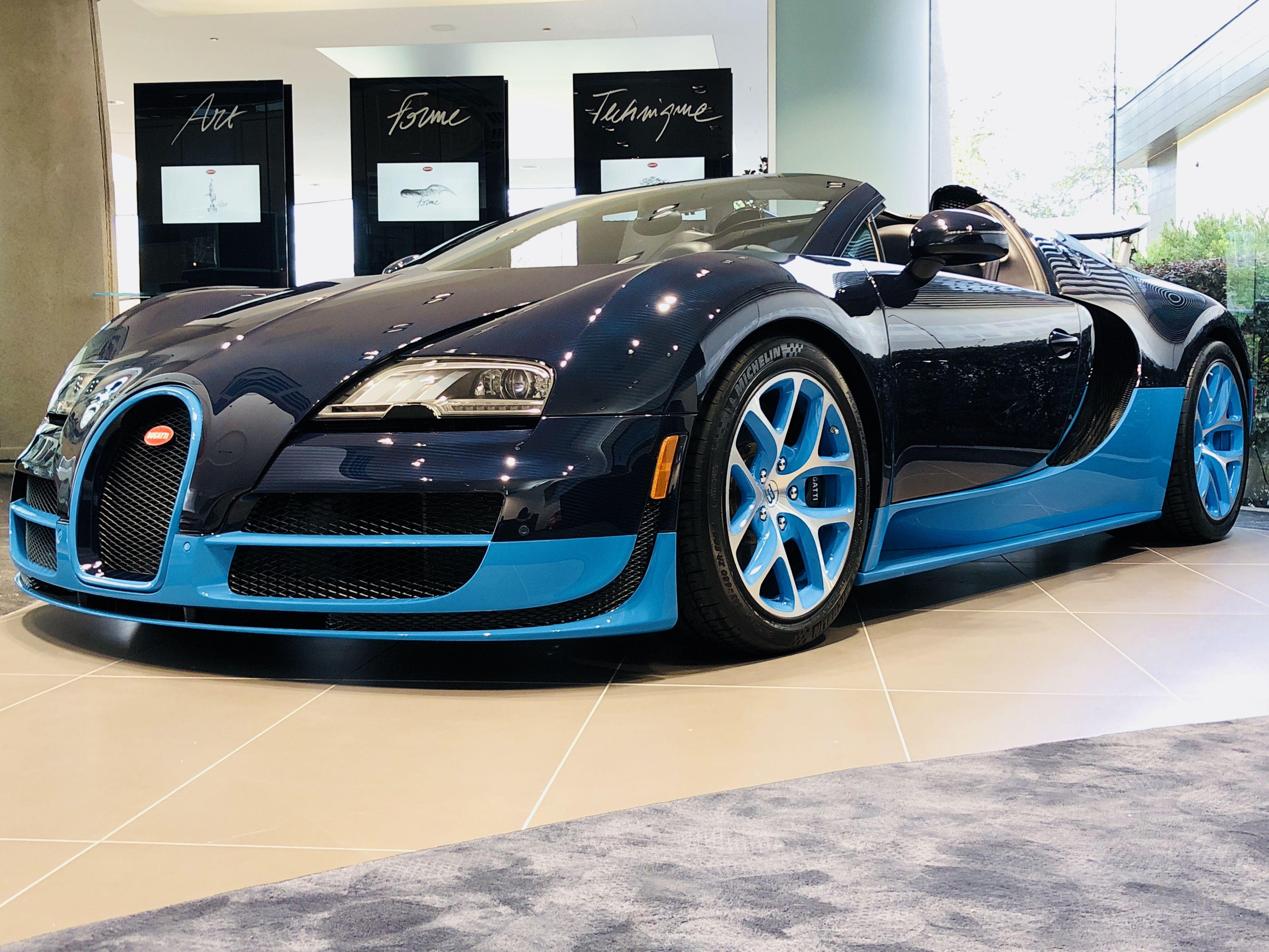 2012 Bugatti Veyron Grand Sport Vitesse From Bugatti Houston