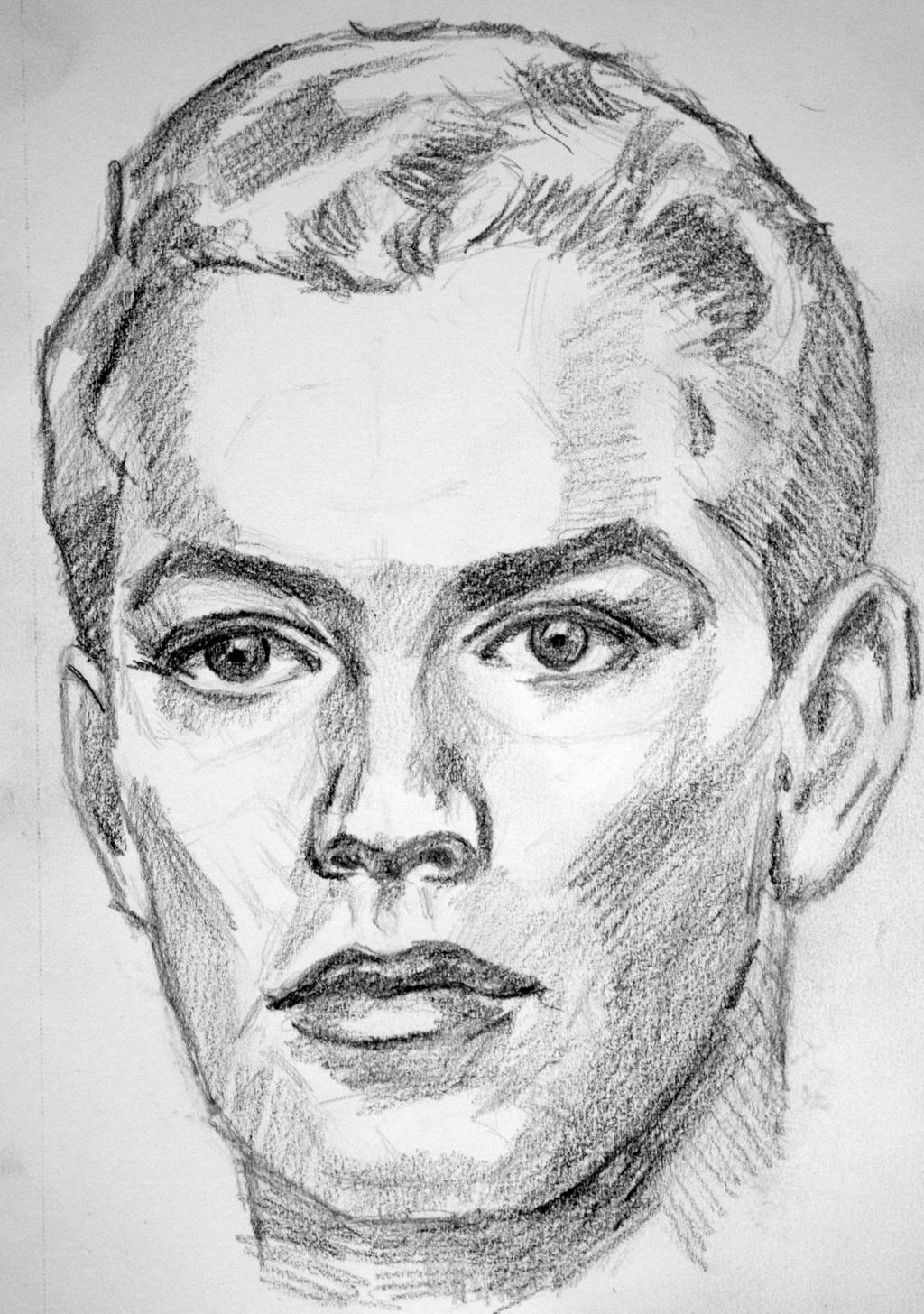 http://www.deviantart.com/art/Sketch-Male-Face-463811991 ...