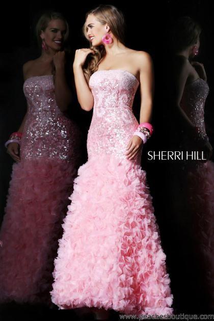 Sherri Hill Prom Dresses and Sherri Hill Dresses 8500 at Peaches ...