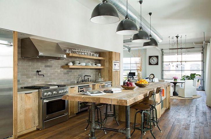 modèle luminaire cuisine industriel cuisines Pinterest - Refaire Son Interieur Pas Cher