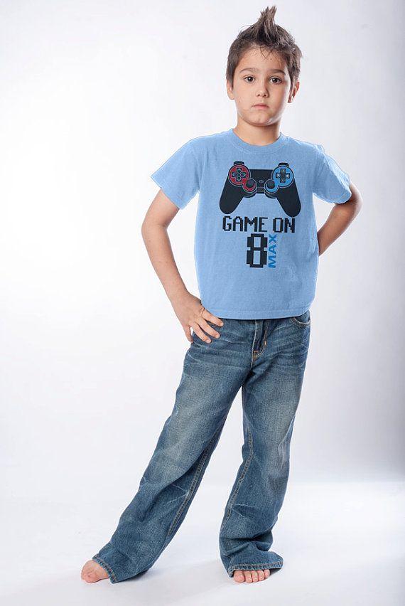 gamer game kids t shirt boys girls boy girl good 14