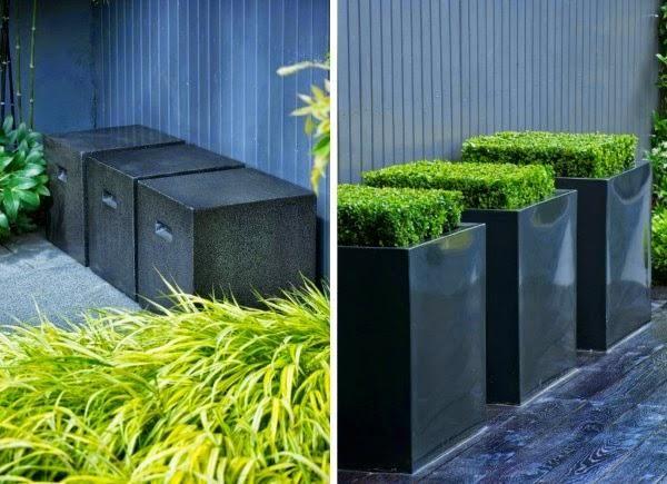 Un pequeño jardín urbano de aire oriental Jardín Pinterest - diseo de jardines urbanos