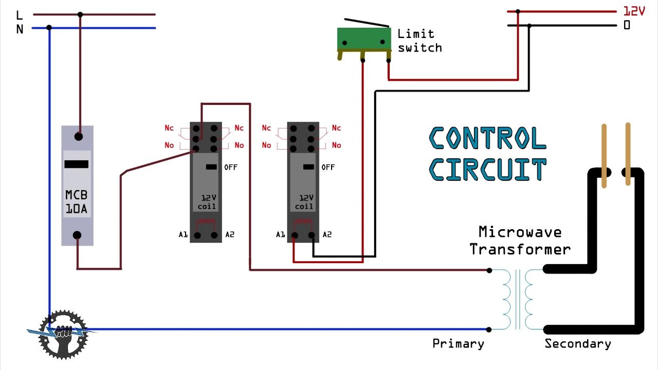 circuit diagram for diy battery welder spot welder microwave oven rh youtube com arc welder diagram 220 volt welder wiring diagram [ 1280 x 720 Pixel ]