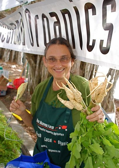 Meatless Monday: Who Grows Our Food  Margie Pikarsky Bee Heaven Farm