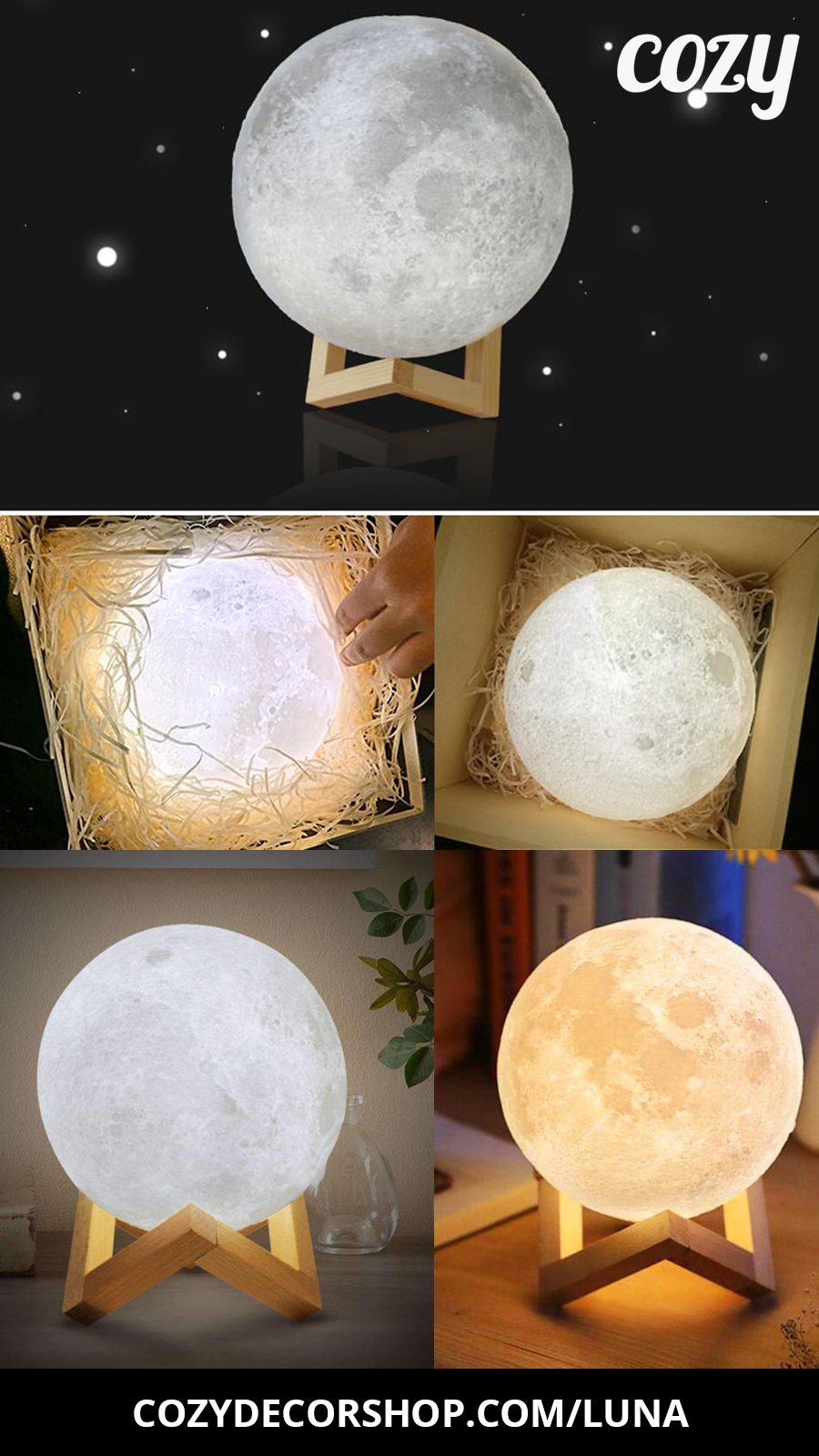 Moon Lamp Night Light Led Night Light Home Decor